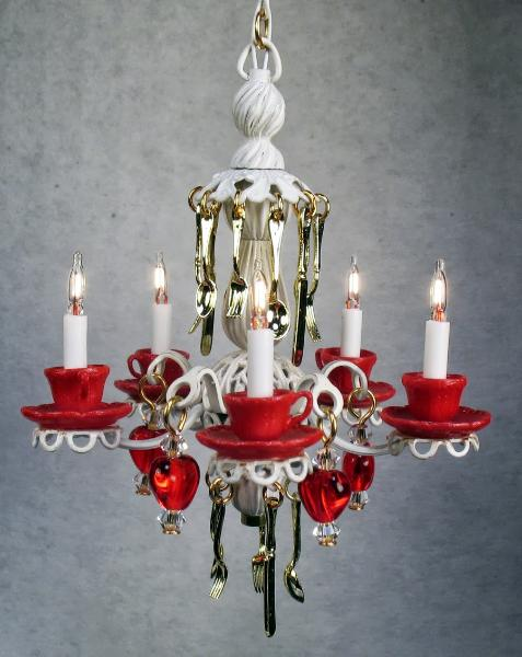 ehow own how make to teacup your chandelier