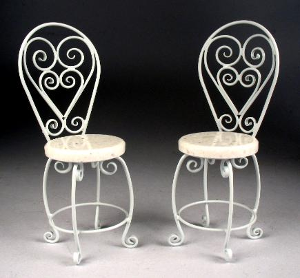 $140.00 Set Of 2 Chairs #307 BC
